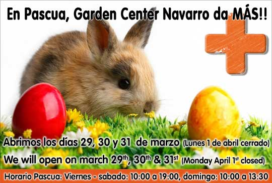 Semana santa garden center navarro for Jardineria navarro