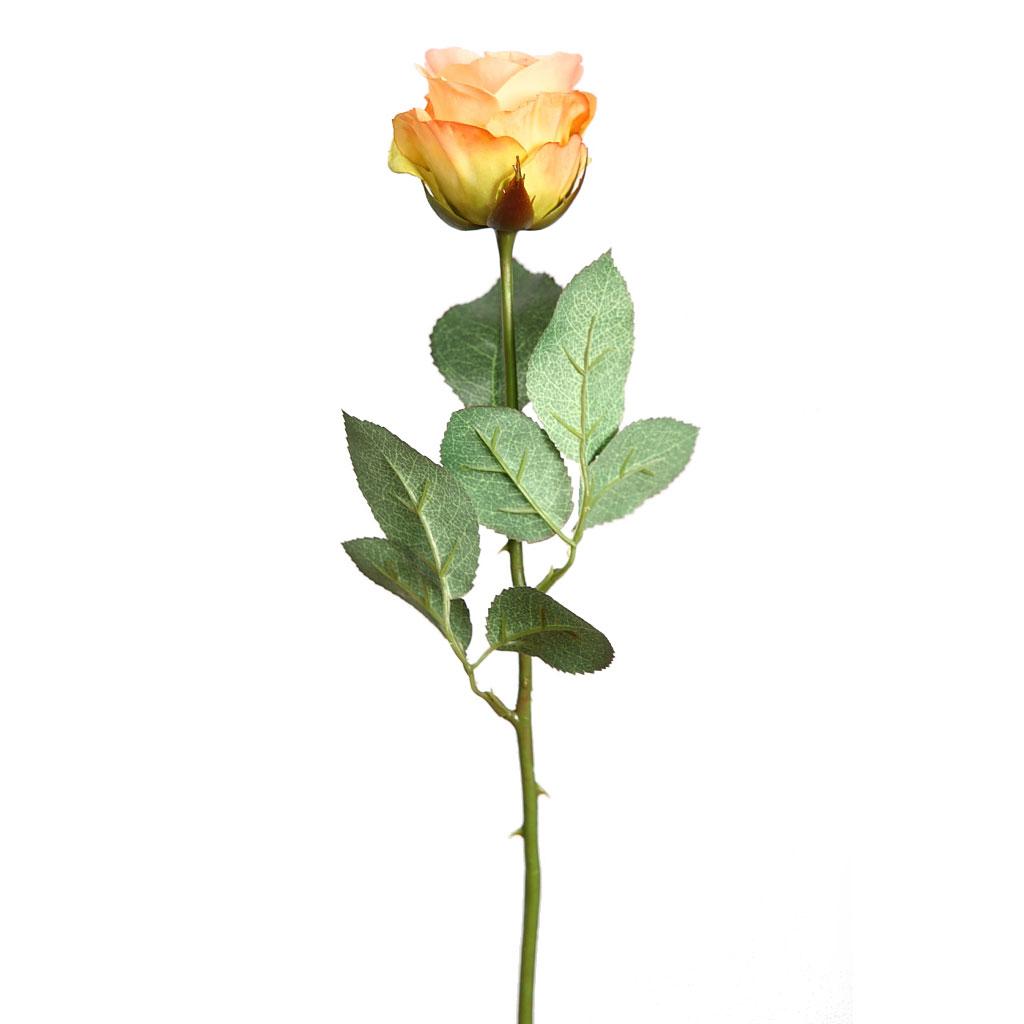 Artificial stem rose 44cm garden center navarro for Jardineria navarro