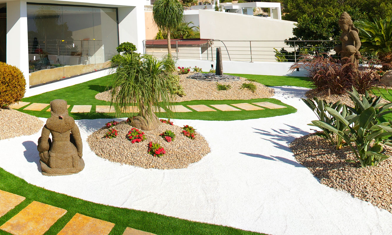 Saco canto rodado blanco especial garden center navarro - Canto rodado blanco ...